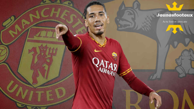 Manchester United Mercato : Chris Smalling (AS Rome)