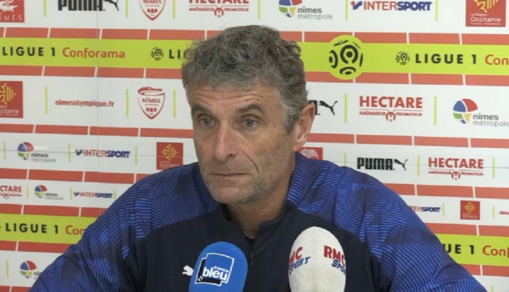 Nîmes Olympique : Bernard Blaquart