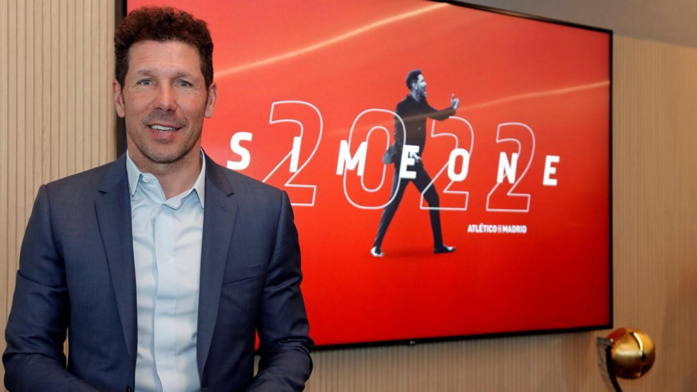 Atlético Madrid : une légende du club nouvel adjoint de Diego Simeone ?