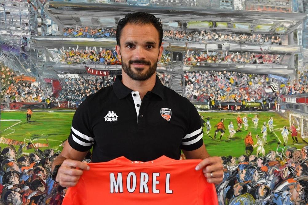 FC Lorient : Jérémy Morel (crédit photo FC Lorient)