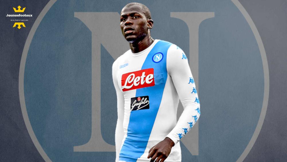 Naples - Mercato : 100M€ ou rien pour Koulibaly et Fabian Ruiz