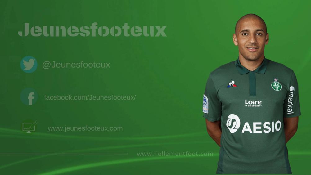 ASSE : Wahbi Khazri, attaquant de St Etienne.