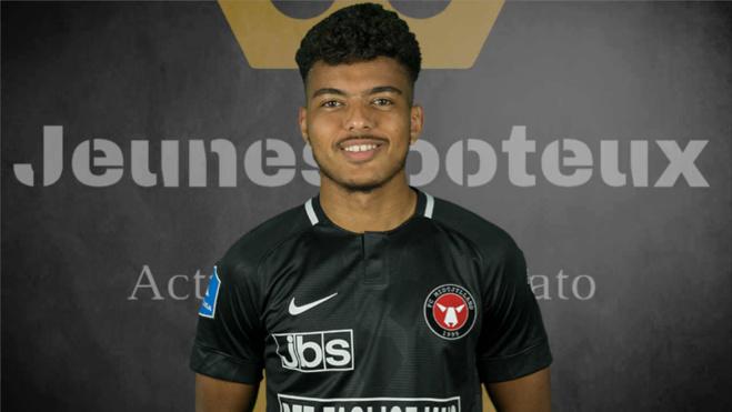 Evander, milieu offensif brésilien du FC Midtjylland