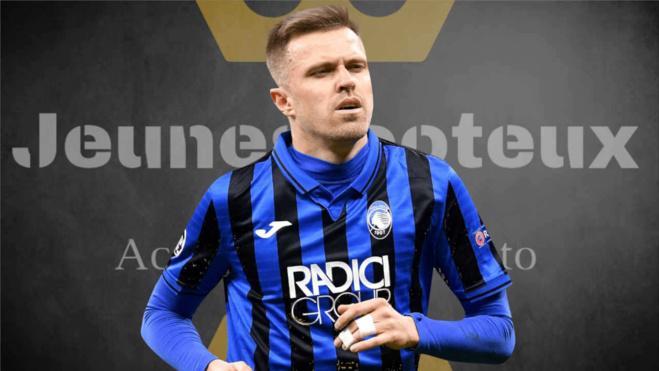 Josip Ilicic, attaquant de l'Atalanta Bergame
