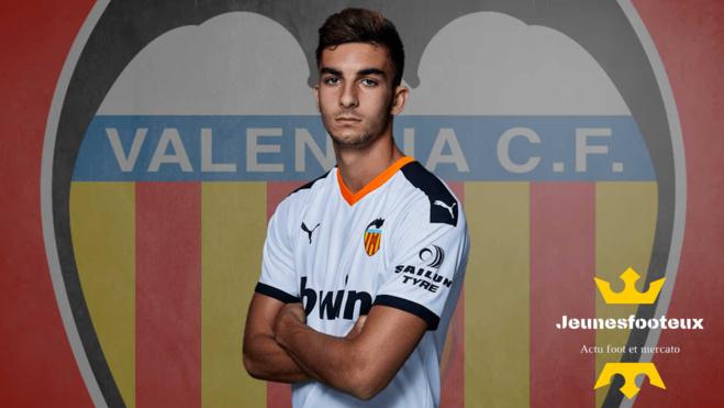 Ferran Torres, ailier du FC Valence
