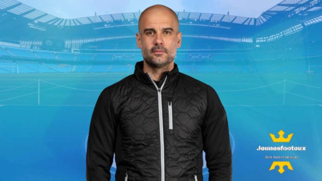 Pep Guardiola - entraîneur de Manchester City.