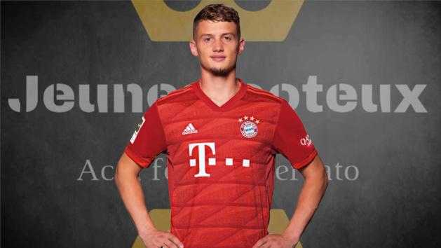 Mickaël Cuisance, milieu de terrain du Bayern Munich