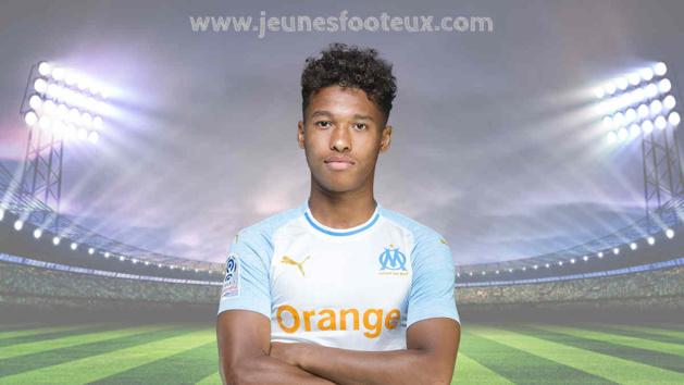 Boubacar Kamara, défenseur de l'Olympique de Marseille