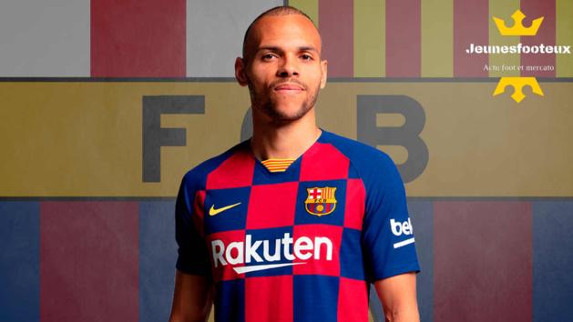 Martin Braithwaite, attaquant du FC Barcelone
