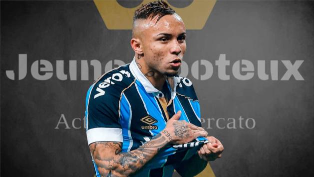 Everton Soares au Benfica Lisbonne ?
