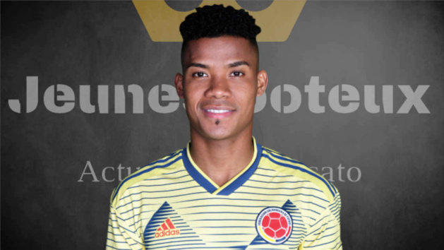 Wilmar Barrios avec le maillot de la Colombie