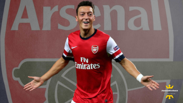 Mesut Ozil, milieu offensif d'Arsenal