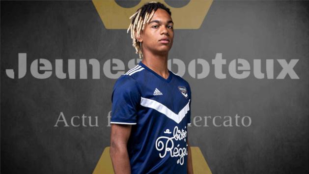 Sekou Mara, attaquant des Girondins de Bordeaux