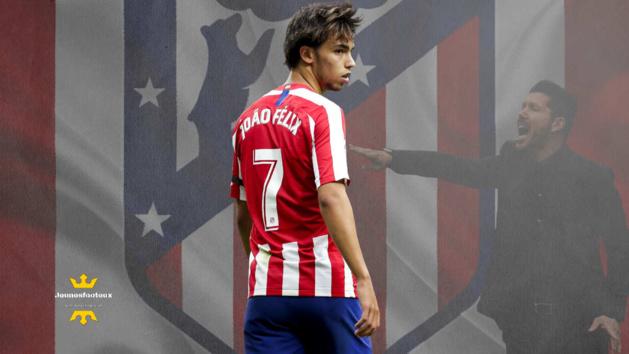 """Atlético Madrid : João Felix veut """"écrire l'histoire"""" comme Antoine Griezmann"""