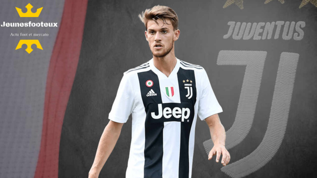 Daniele Rugani, défenseur centrale de la Juventus