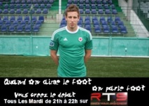 Pierre Gibaud dans Quand on aime le foot, on parle foot