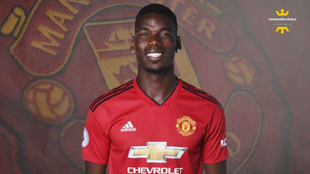 Paul Pogba, milieu de terrain de Manchester United