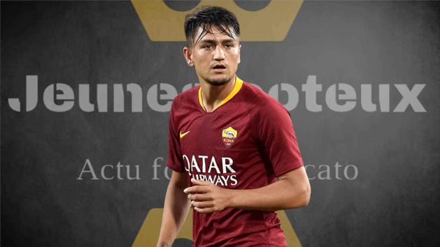 Cengiz Under, ailier de l'AS Rome