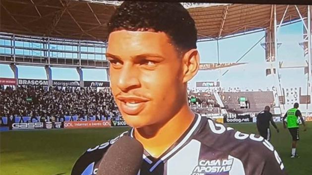 Luis Henrique, attaquant de Botafogo