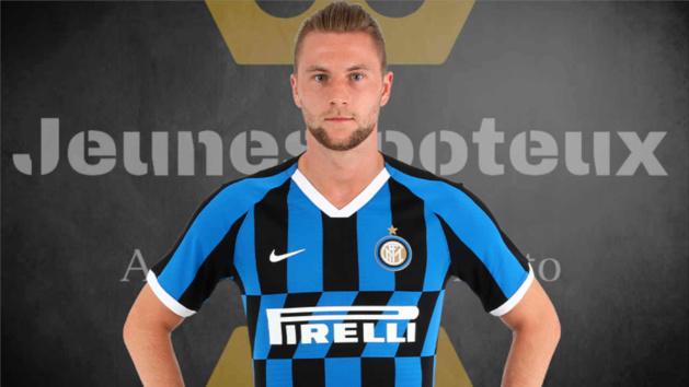 Milan Skriniar, défenseur de l'Inter Milan