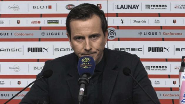 Julien Stéphan, entraîneur du Stade Rennais