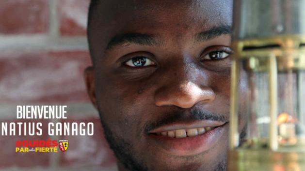 Ignatius Ganago, attaquant du RC Lens