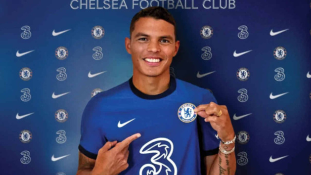 Thiago Silva, défenseur de Chelsea
