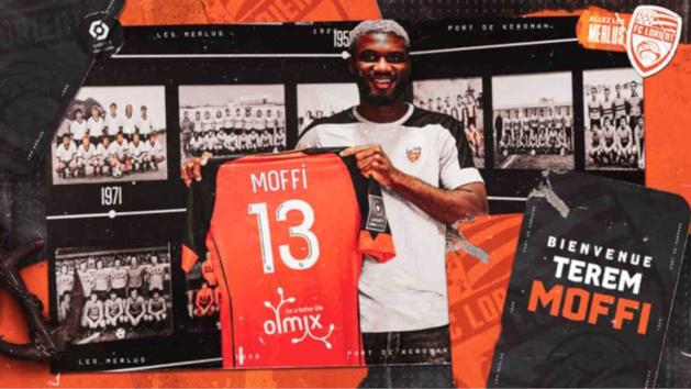 Lorient - Mercato : Terem Moffi (Courtrai) officiellement Merlus