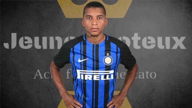 Dalbert, latéral gauche de l'Inter Milan