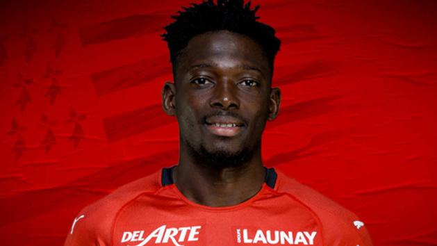Hamari Traoré, latéral droit du Stade Rennais
