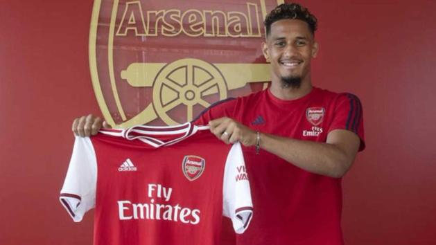 William Saliba, défenseur d'Arsenal