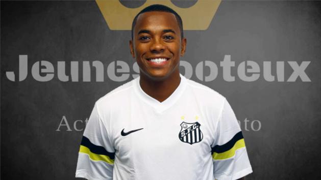 Robinho, attaquant de Santos