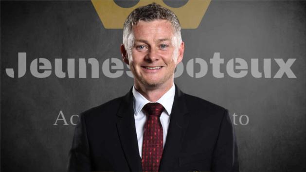 Ole Gunnar Solskajer, entraîneur de Manchester United