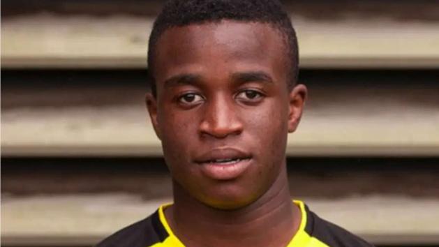 Youssoufa Moukoko, attaquant du Borussia Dortmund