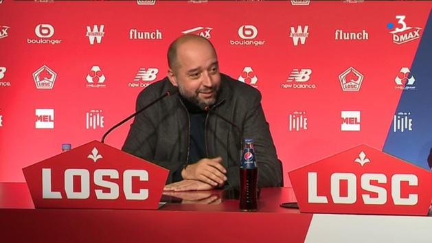 Gérard Lopez, président du LOSC