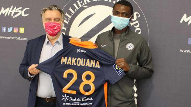 Béni Makouana, attaquant du MHSC