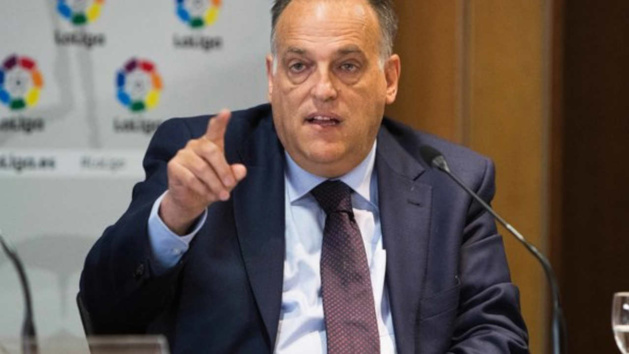 Une Super League ? Tebas se marre