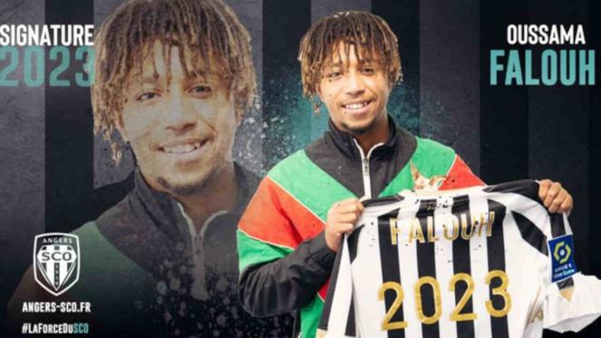 Oussama Falouh jusqu'en 2023 à Angers SCO