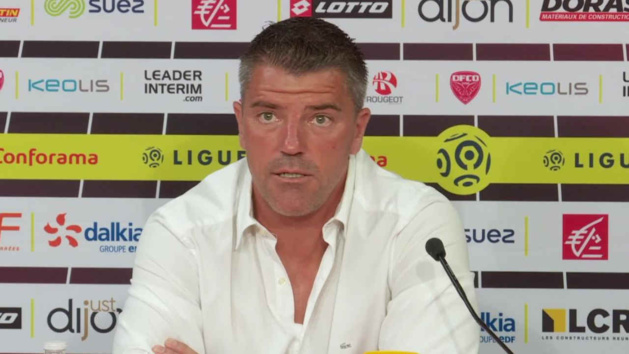 OL : Coupet (Dijon FCO) tacle Aulas et Rudi Garcia