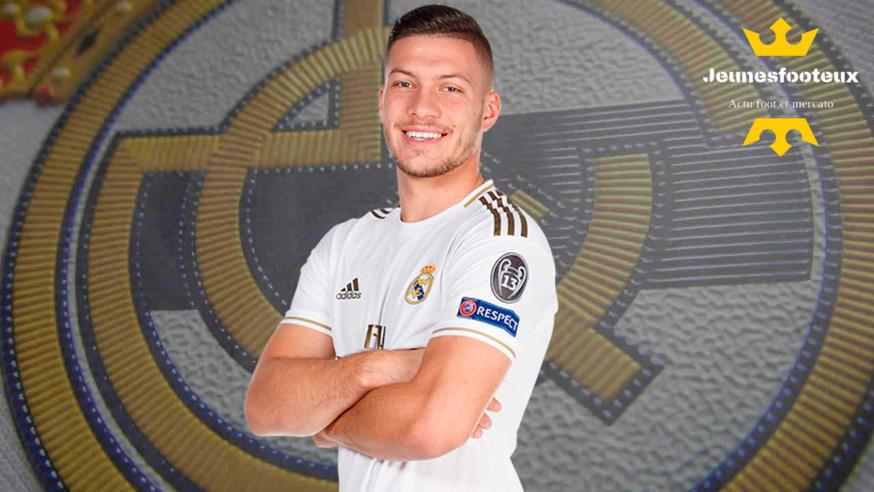 Real Madrid : Luka Jovic (Serbie, Réal).