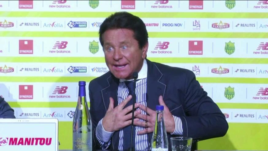 Waldemar Kita, président du FC Nantes