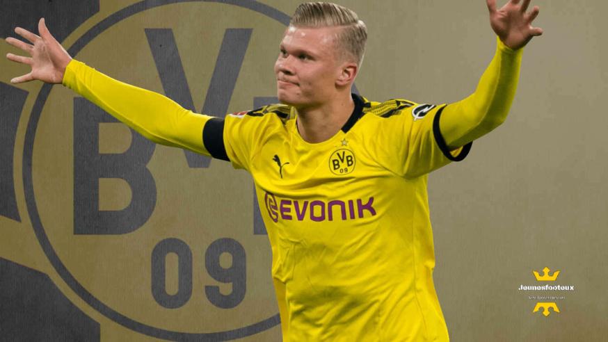 Erling Haaland empile les buts avec le Borussia Dortmund