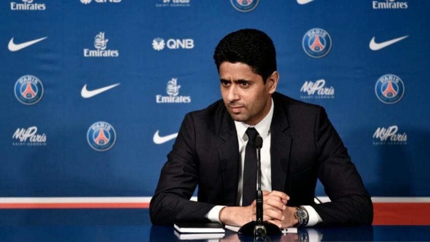 PSG - Réal :Al-Khelaïfi (Paris Saint-Germain).