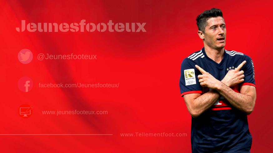 Ligue des Champions : Lewandowski (Bayern Munich).