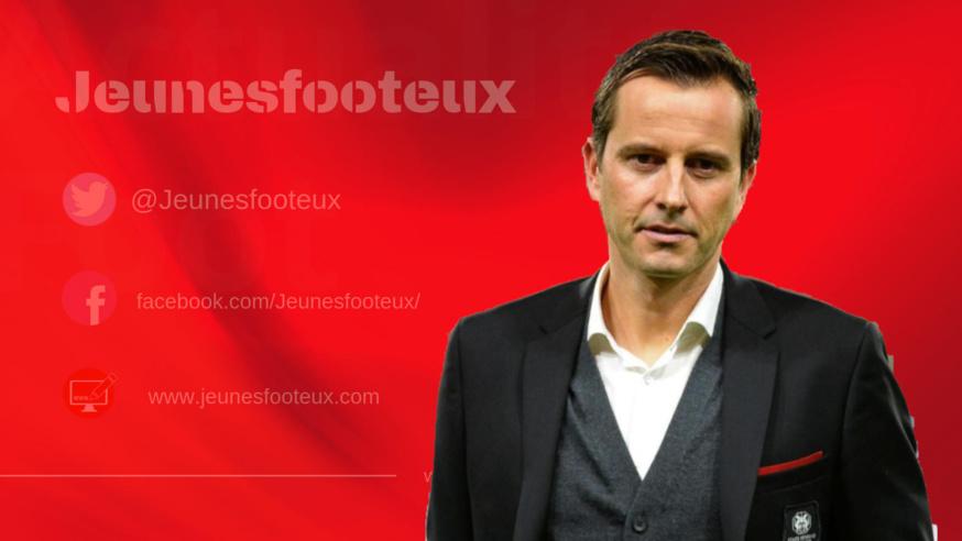 Rennes - Lens : Julien Stéphan (Stade Rennais).