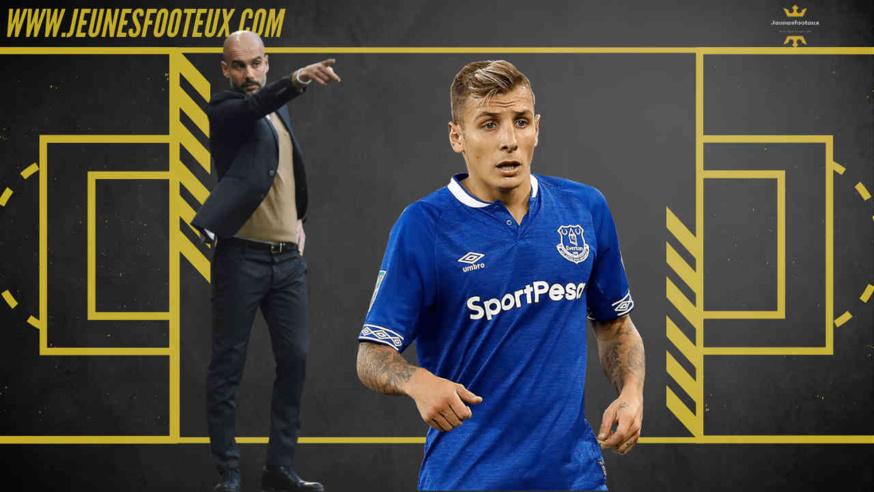 Lucas Digne, latéral gauche d'Everton devrait prolonger avec les Toffees