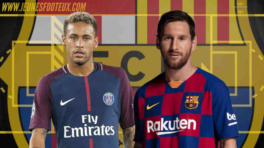 Mercato FC Barcelone : Neymar avec Lionel Messi au Barça ?
