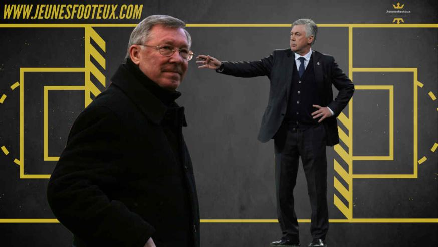 Sir Alex Ferguson et Carlo Ancelotti