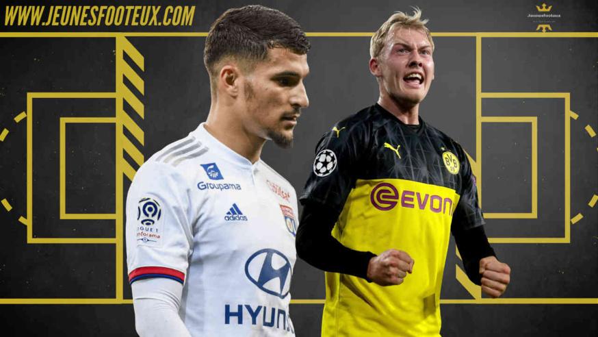 Houssem Aouar (OL) disponible cet été, Arsenal pourrait viser Julian Brandt (Borussia Dortmund)