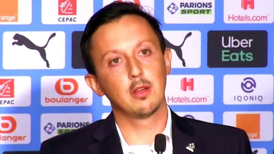 Pablo Longoria, directeur sportif de l'Olympique de Marseille